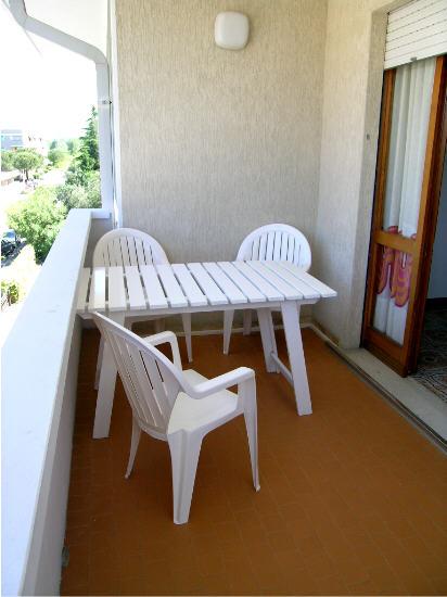 Terrazza - Appartamento monocamera in affitto a Grado Città Giardino