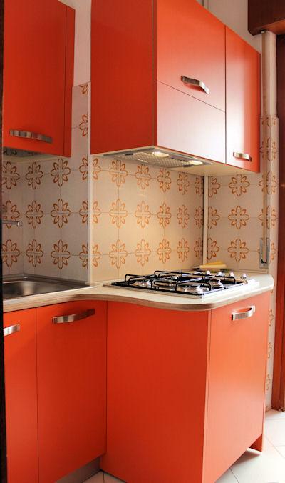 Cucinino - Appartamento monocamera in affitto a Grado Città Giardino